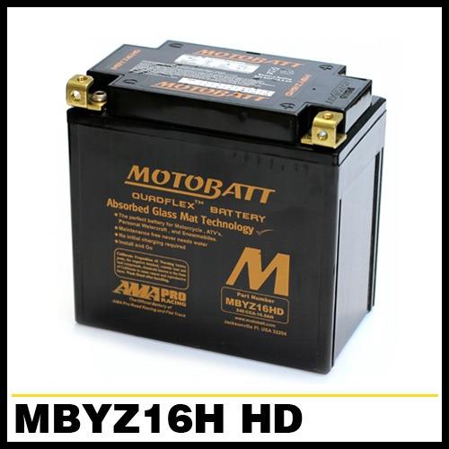 [MOTOBATT] 모토뱃 AGM 배터리 (MBYZ16H HD_GYZ16HL) 할리데이비슨 1200 스포스터 (XL, XLH)